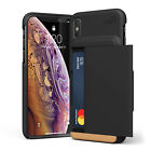 For iPhone X/Xs/Max/XR Case VRS® [New Damda Glide] Slim Shockproof Wallet Cover