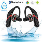 Waterproof Wireless Earbuds Bluetooth 5.0 Headphone Sport Earpiece Bass Headset