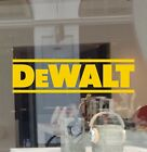 Dewalt Tools Decal Die Cut Vinyl Car Truck Window Tool Box Laptop Sponsor Model