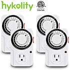 24-Hour Indoor Plug-In outlet Timer Switch ON/OFF For Light Fans Home Appliance  photo