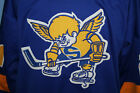 MINNESOTA FIGHTING SAINTS WHA RETRO HOCKEY JERSEY STEVE CARLSON SEWN ANY SIZE