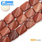 15x20mm Assorted Stones Rectangle Twist Beads For Jewelry Making Free Shipping
