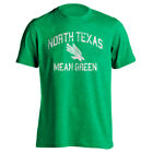 University North Texas UNT Mean Green Distressed Retro Logo Short Sleeve T-Shirt