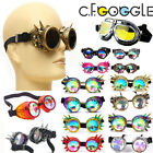 US Stock Kaleidoscope Steampunk Goggle Glasses Welding Cyber Punk Gothic Cosplay
