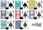 Wide Selection Las Vegas Casino Table-Played Playing Cards Deck w/Velvet Pouch