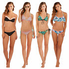 Boutique Womens Summer Bikini Ladies Spaghetti Strap Patterned Swimwear Pool Set