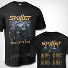 Skillet Tour Dates 2019 T SHIRT S-3XL MENS image