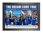 Leicester City 2 Football Club 2015 2016 Premier League Champions Poster