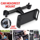 "360°Car Seat Back Headrest Mount Holder 7-11"" Tablet For IPad Mini GPS Bracket"