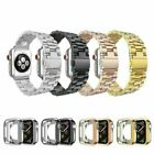 Stainless Steel Wrist Band Strap Case Cover For Apple Watch 4/3/2 iWatch 38/42mm