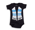 Infant Boys' Sara Kety Black Tallis Bodysuit - 6-12 Months