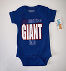 "Infant  Boys' Sara Kety "" my dad is a GIANT fan"" - 0-6 Months"