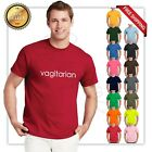 Vagitarian Funny T Shirt Sexual Party Rude Adult Humor Vegetarian Sex Tee