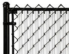 Privacy Slats For Chain Link Fence Single Wall Ridged® Bottom Lock