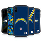 OFFICIAL NFL LOS ANGELES CHARGERS LOGO HYBRID CASE FOR APPLE iPHONES PHONES $21.95 USD on eBay