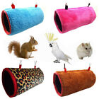 1Pc Parrot Toy Pet Bed Sleeping Nest Winter Soft Bird Nest House Random Color