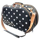 Venta-Shell Perforated Collapsible Military Grade Designer Pet Dog Carrier Bag