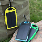 5000mah Dual-USB Waterproof Solar Power Bank Battery Charger for Chamber Phone DIY