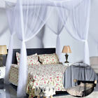 Bed Canopy Mosquito Net Large King Queen Full Bed Netting Curtain Insect Protect image