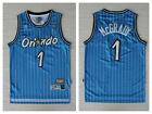 2019 New TRACY McGRADY #1 Orlando Magic Blue White Striped Throwback Jersey on eBay