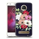 OFFICIAL ANIS ILLUSTRATION FLOWERS HARD BACK CASE FOR MOTOROLA PHONES 1