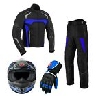 Motorcycle jackets Motorcycle gloves Trouser Motorbike helmets Suit Waterproof