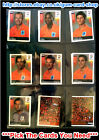 Panini Euro 2008 (271 To 324) (Mint) Wähle den Sticker You Need