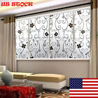 1 Roll Frosted Privacy Home Bedroom Bathroom Glass Window Film Sticker Showy US