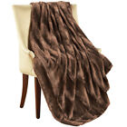 Elegant & Soft Faux Fur Throw Blanket, by Collections Etc image