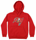 OuterStuff NFL Youth Tampa Bay Buccaneers Primary Team Logo Fleece Hoodie, Red $34.99 USD on eBay
