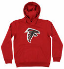 OuterStuff NFL Youth Atlanta Falcons Primary Team Logo Fleece Hoodie, Red on eBay