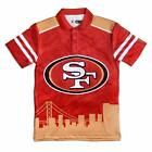 Forever Collectibles NFL Men's San Francisco 49ers Thematic Polo Shirt $39.99 USD on eBay