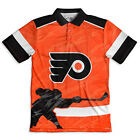 Forever Collectibles NHL Men's Philadelphia Flyers Thematic Polo Shirt $33.99 USD on eBay
