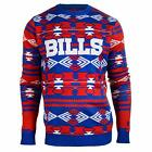 Forever Collectibles NFL Men's Buffalo Bills 2015 Aztec Ugly Sweater $39.99 USD on eBay