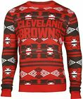 Forever Collectibles NFL Men's Cleveland Browns 2015 Aztec Ugly Sweater $39.99 USD on eBay