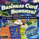 Business Card Maker Software Assortment PC Windows Sealed New
