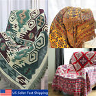 Super Soft Warm Bohemian Ethnic Cotton Blanket Throw Rug Sofa Bedding 180*130cm! image