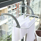 Folding Clothes Rack Drying Laundry Multifunction Hanger Dryer Indoor Outdoor US