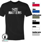 Size Matters Gym Rabbit T-Shirt Workout BodyBuilding Fitness Motivation Tee F294 image