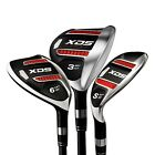 Acer XDS React Hybrid Ironwood sets: 3,4,5,6 or 7 clubs; Graphite, Choose Flex