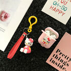 Cute cartoon Disney pendant Strap Earphone Case Cover for apple Airpods Charging