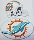 NFL Miami Dolphins 2019 Embroidered  Iron-on Patch FREE SHIPPING-US Made $4.0 USD on eBay