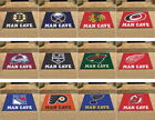NHL Man Cave All Star Mat Area Rug Fanmats Choose Your Team $46.89 USD on eBay