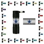 TWO (2) NFL 9X LED FLASHLIGHTS FROM TEAM PROMARK (BATTERIES ARE INCLUDED) $15.0 USD on eBay