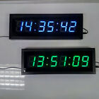 Remote Large 3D LED Digital Wall Clock Home Decor Countdown Stopwatch Big Timer