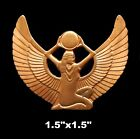 Vintage Brass Stampings Egyptian Revival/ Winged isis - 2 Styles - Large