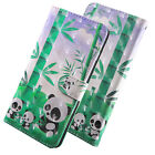 Luxury Flip Card wallet Flip PU Leather + Rope Stand Case Cover For Cell Phones