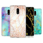 HEAD CASE DESIGNS GLITTERY MARBLE PRINTS SOFT GEL CASE FOR NOKIA PHONES 1