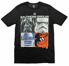 MLB Youth Baltimore Orioles Star Wars Main Character T-Shirt, Black on Ebay