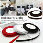 22Meters Double Sided Ribbon 10mm-Width Crafts Gift Wrapping Wedding Party Decor